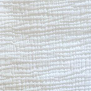 tendance textile gaze de coton blanc