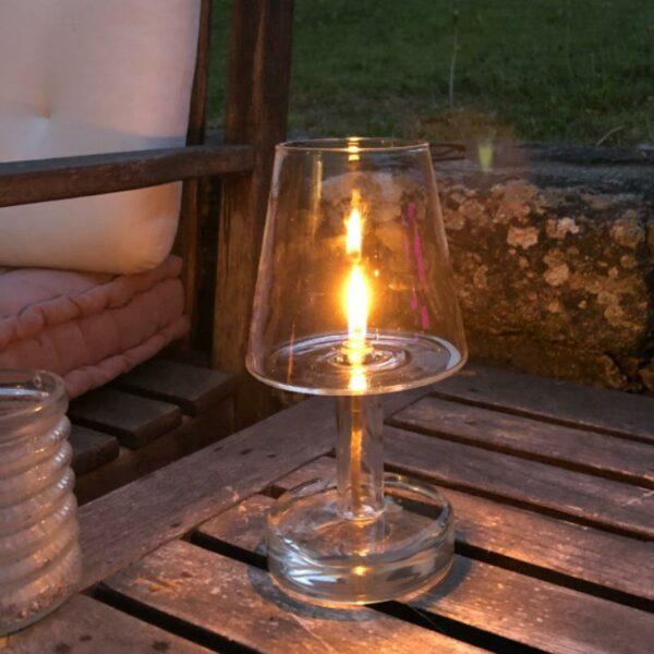 lampe à huile extérieur intérieur