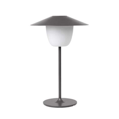 LAMPE SANS FIL A LED GRISE