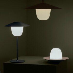 LAMPE MOBILE SANS FIL A LED NOIR DE CHEZ BLOMUS