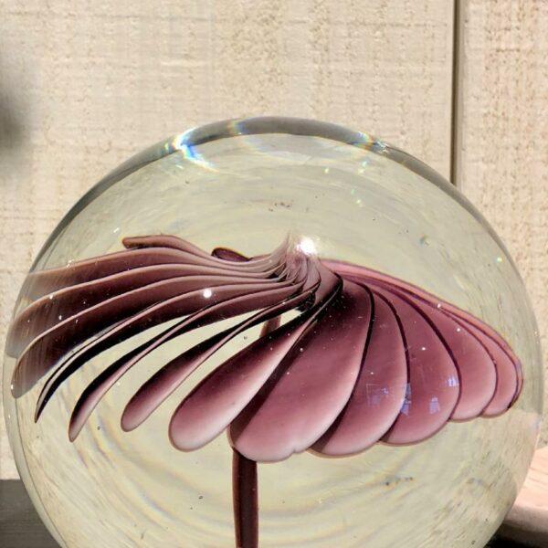 glass flower ball HK Living