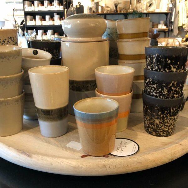 mug et tasses 70'S de chez HK Living