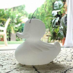 Lampe canard Duck-Duck pour l'exterieur et baladeuse