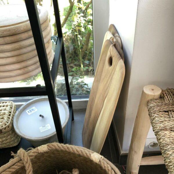 Planche apero en acacia décoration