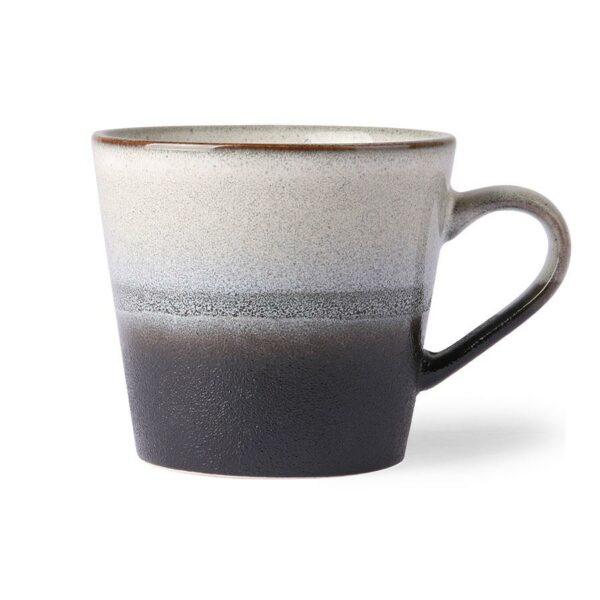 Tasse cappuccino Rock en céramique