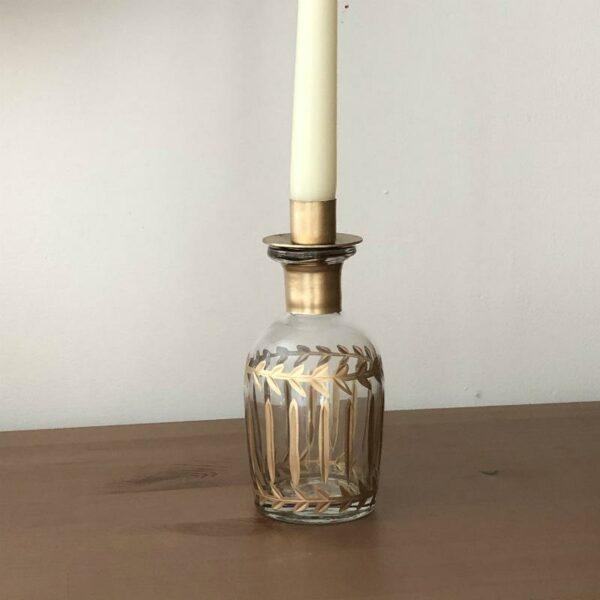 vase flacon et porte bougie design original