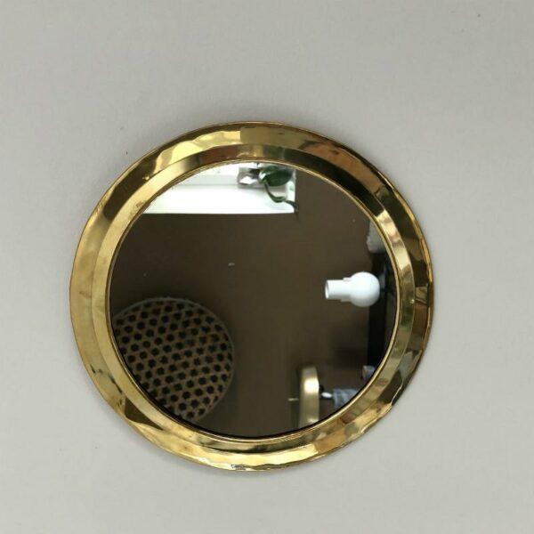 miroir rond laiton marocain style rétro