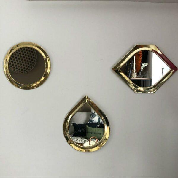 miroirs doré Choufmoi déco chic et bohème