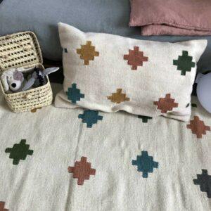 tapis coton et laine d'Egypte colorés couleur Pantone